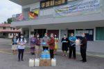 27-08-2020 本会妇女组随同人联党峇都林当支部主席薛华东及本固鲁贝朝兴向大段中公捐赠防护用品