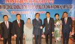 17-12-2017 本会理事,青年团及妇女组出席 : 中国驻古晋总领事付吉军欢送晚宴